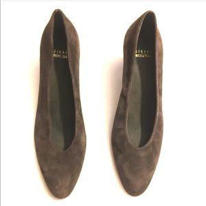 Stuart Weitzman brown suede pumps shoes 👠